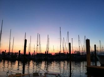 Sunset in Panama City, Florida